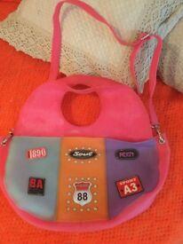Butler and Wilson handbag,plastic,colourful,unique
