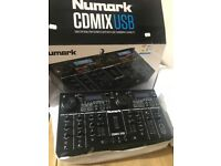 NUMARK CDMIX USB CD/MP3 PLAYER THUMBDRIVE CAPABILITY