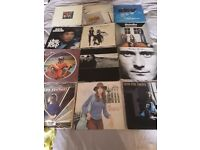 Various vinyl records