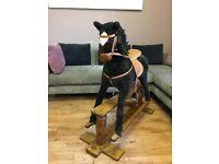 Black Rocking Horse - used
