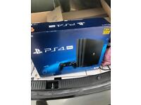 PlayStation 4 pro console brand new