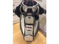 Ping golf cart bag for sale in good condition.