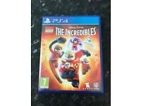 LEGO The Incredibles Video Game PlayStation 4