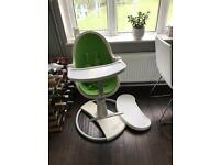 Bloom Fresco Contemporary Highchair- Gala Green