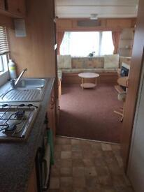 Static caravan. Head corn. Kent