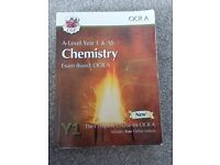 2 A level chemistry textbooks OCR New specification