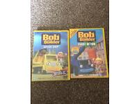 2 x bob the builder dvds