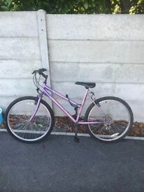 A girls bike for sale in good condition £20.00 Collection only