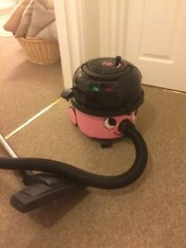 Pink Hetty Hoover with bags!