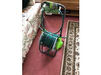 Garden Hose Reel 40m with pulley handle / wheels