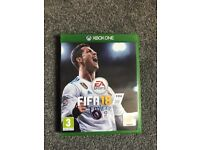 Fifa 18 standard edition for sale, brand new only played for 5mins.