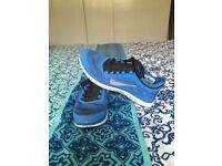 Nike Free Run 3.0 trainers in Blue/black