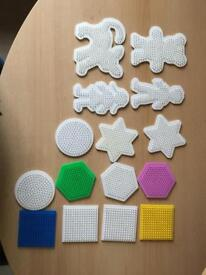 Job lot of Hama Beads and Boards