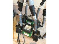 Used Salamander Pumps for shower or baths.