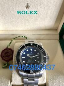 Stunning Rolex Deepsea Dweller - James Cameron Edition D Blue. New, Luxury automatic divers watch