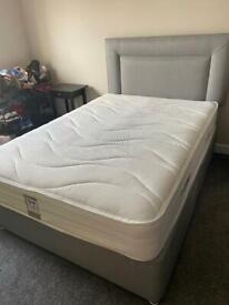 Brand New Sensaform Airsteam 3000 Double Divan Bed