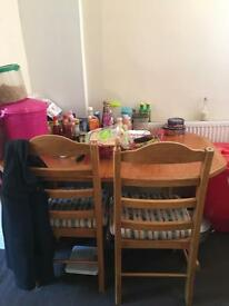 Dining table with 3 chairs for sale