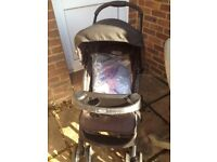 Graco Mirage Plus Stroller and raincover