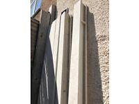 Concrete fence post 8ft
