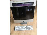 Apple iMac 2.66GHZ 2GB 320GB in PERFECT condition + Box & Bits