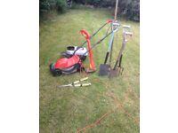 Gardening equipment, Flymo lawnmower