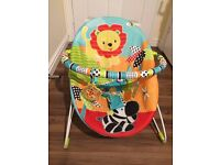 BABY ROAMING SAFARI VIBRATING BOUNCER