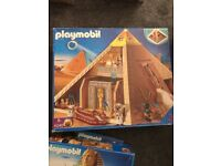Playmobil Pyramid and Sphinx bundle