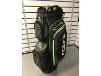 COBRA 14WAY CART BAG. AVERAGE CONDITION.