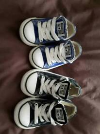 Converse size 5 and 6