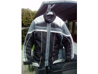Spada Jacket and other motorcycle accessories.