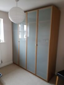 Double Wardrobe (IKEA) - Excellent Condition