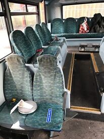 Make an offer scrap bus poles and seats. Immediate collection!!