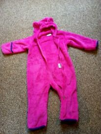 18-24 months fleece suit