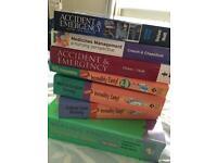 Nursing medical study books