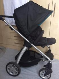 Mamas and papas sola 2 pram pushchair with rain cover