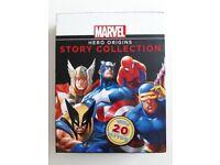 Marvel Hero Origins Story Collection (x4 books)