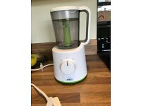 Phillips AVENT combined steamer and blender