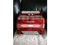 Crucianelli accordion 3 row Chromatic..