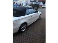 BMW 118i covertible