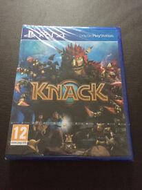 Brand new PS4 Knack