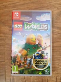 Lego worlds Nintendo switch like new