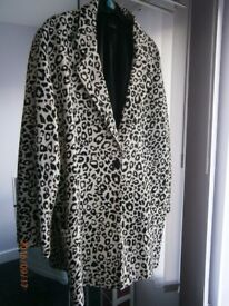 Two ladies coats size 18.