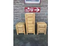 Solid oak chest of drawers * free furniture delivery *
