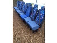 9 single seats one double in good clean condition