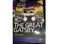 York Notes AS & A2 - The Great Gatsby Revision Guide