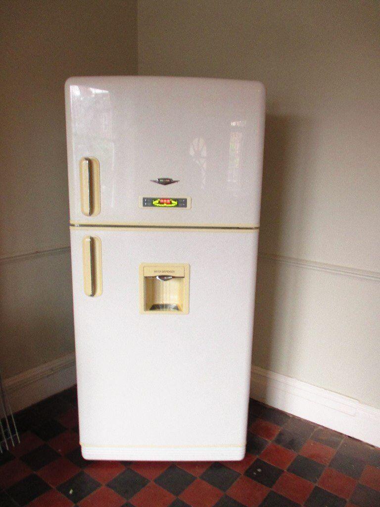 Large Retro Style Daewoo Fridge Freezer For Sale In