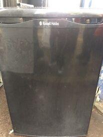 BLACK NEW MODEL RUSSELL HOBBS FREEZER UNDER COUNTER 85cm height 55cm wide