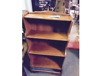 Bookcases 1 large and 1 small