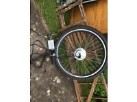 Electric bike front wheel motor kit 36v 250 watt