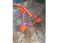 Teletubbies scooter